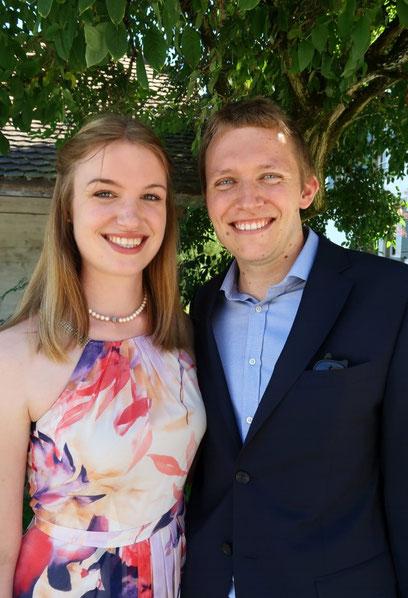 Ani und Flo bei der Hochzeit von LuSi