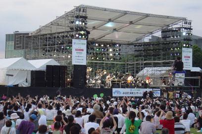鹿児島仮設 イベント ステージ