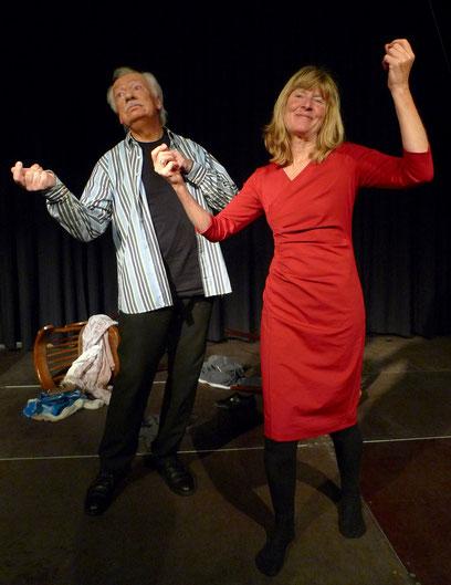 Ann-Britta Dohle, Manfred Schlaffer -  Foto: Roland Maoro