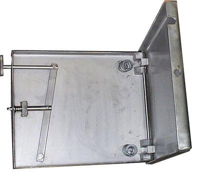 Sonderbau Sitz-Not-Klapp-Vorrichtung - Einzelanfertigung nach Kundenvorgaben.