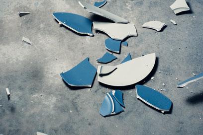 Scheitern, Glück in Scherben