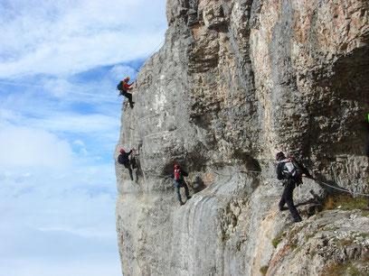 Klettersteig Postalm : Postalm klamm klettersteig