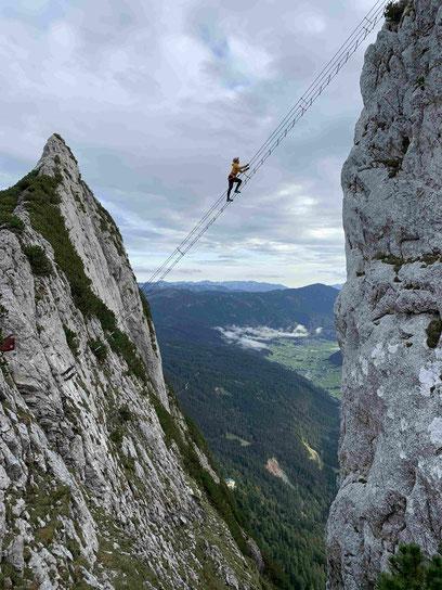 Klettersteig Oberösterreich : Klettersteige herbert wolf bergführer