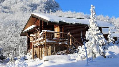 Traumhafte Unterkunft im Schnee