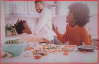 una familia sana significa una familia feliz