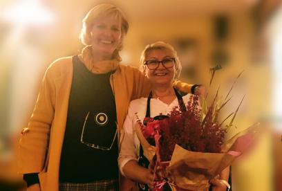 2. Vorsitzende Sigrid Westphal und Eta