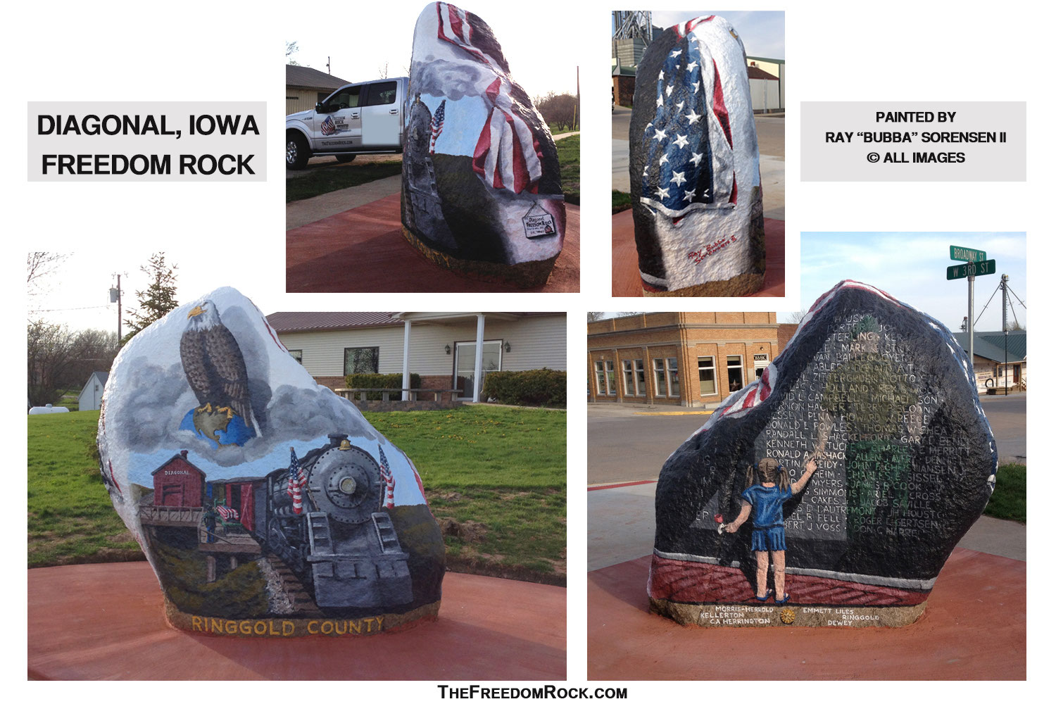 Iowa Fr Tour The Freedom Rock Rock is the son of south town's most infamous fighter/crime boss geese howard. iowa fr tour the freedom rock