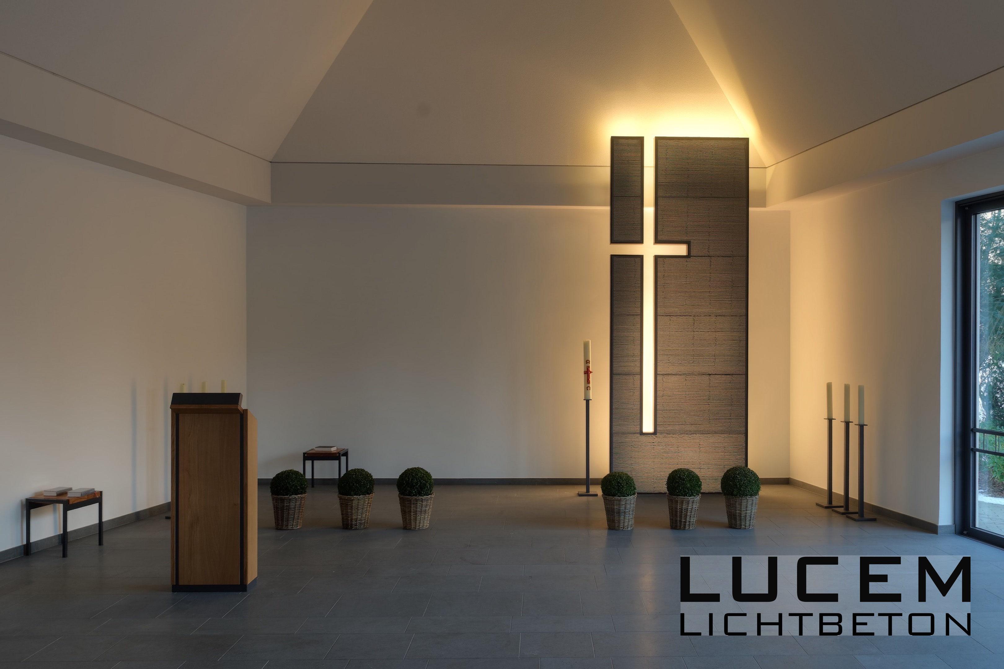 LUCEM Interieur - LUCEM Lichtbeton