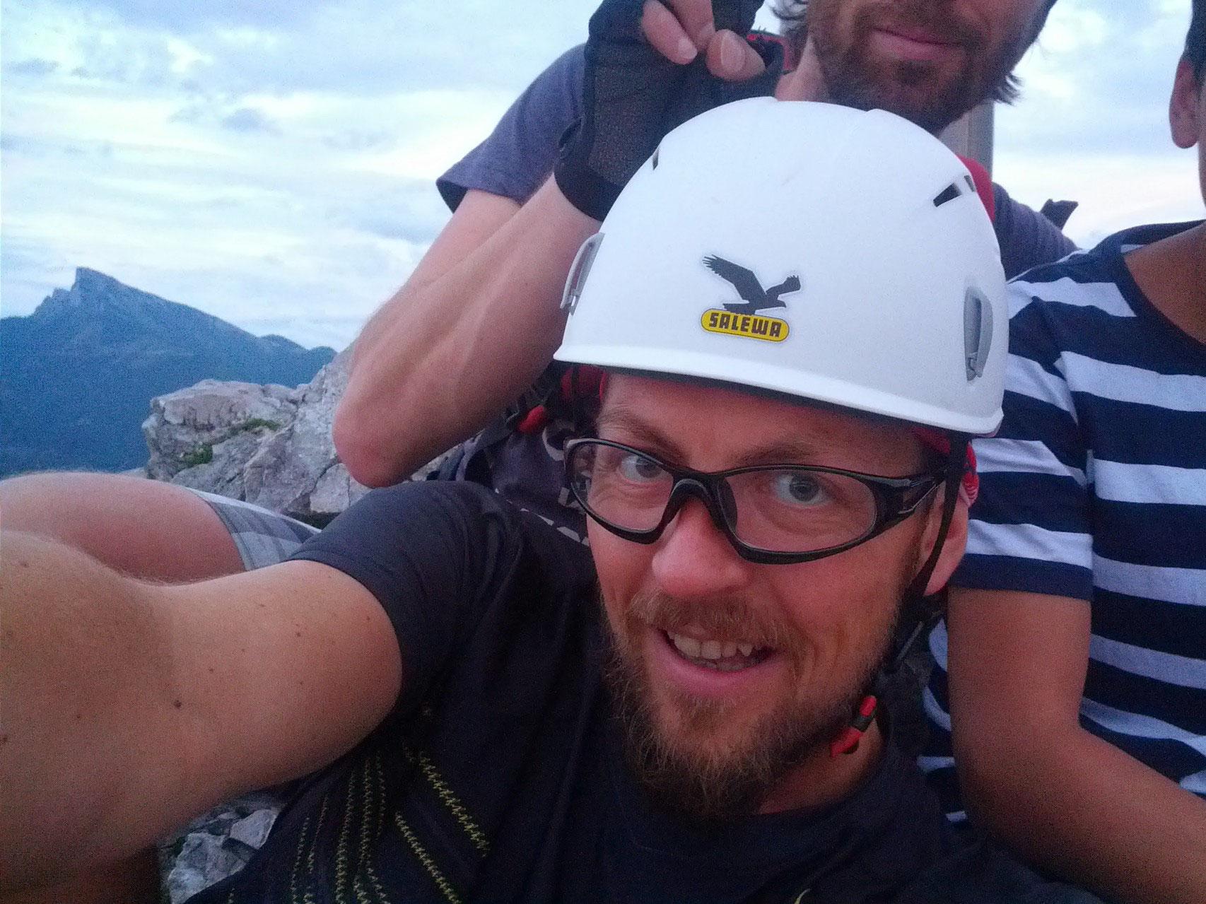 Klettersteig Mondsee : Der drachenwand klettersteig in mondsee lifetravellerz