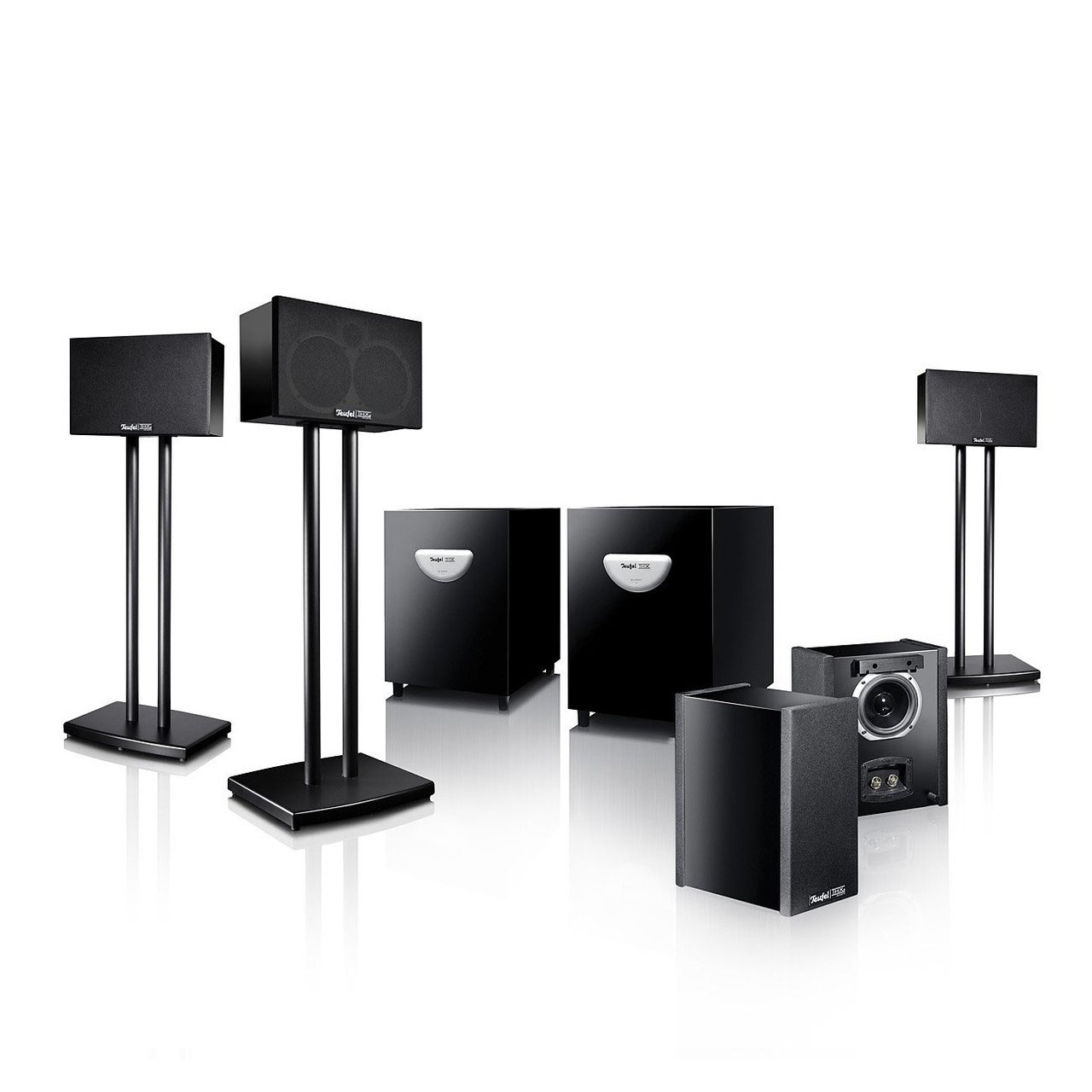 teufel system 5 thx select 2 zertifikat test fernseher tests. Black Bedroom Furniture Sets. Home Design Ideas