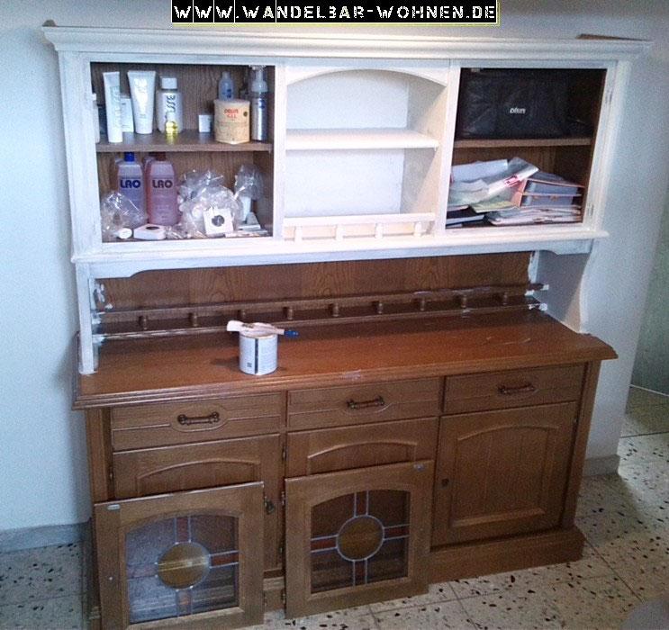 esszimmerschrank zwischen shabby chic und landhaus stil wandelbar wohnen. Black Bedroom Furniture Sets. Home Design Ideas