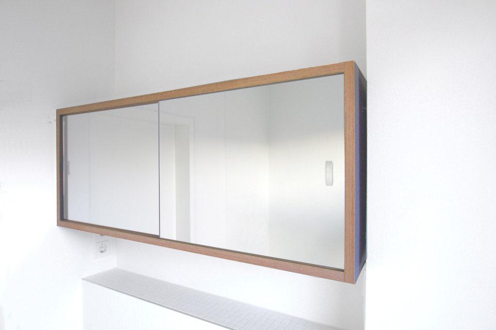 badspiegelschrank helenasudermann architektur m bel. Black Bedroom Furniture Sets. Home Design Ideas