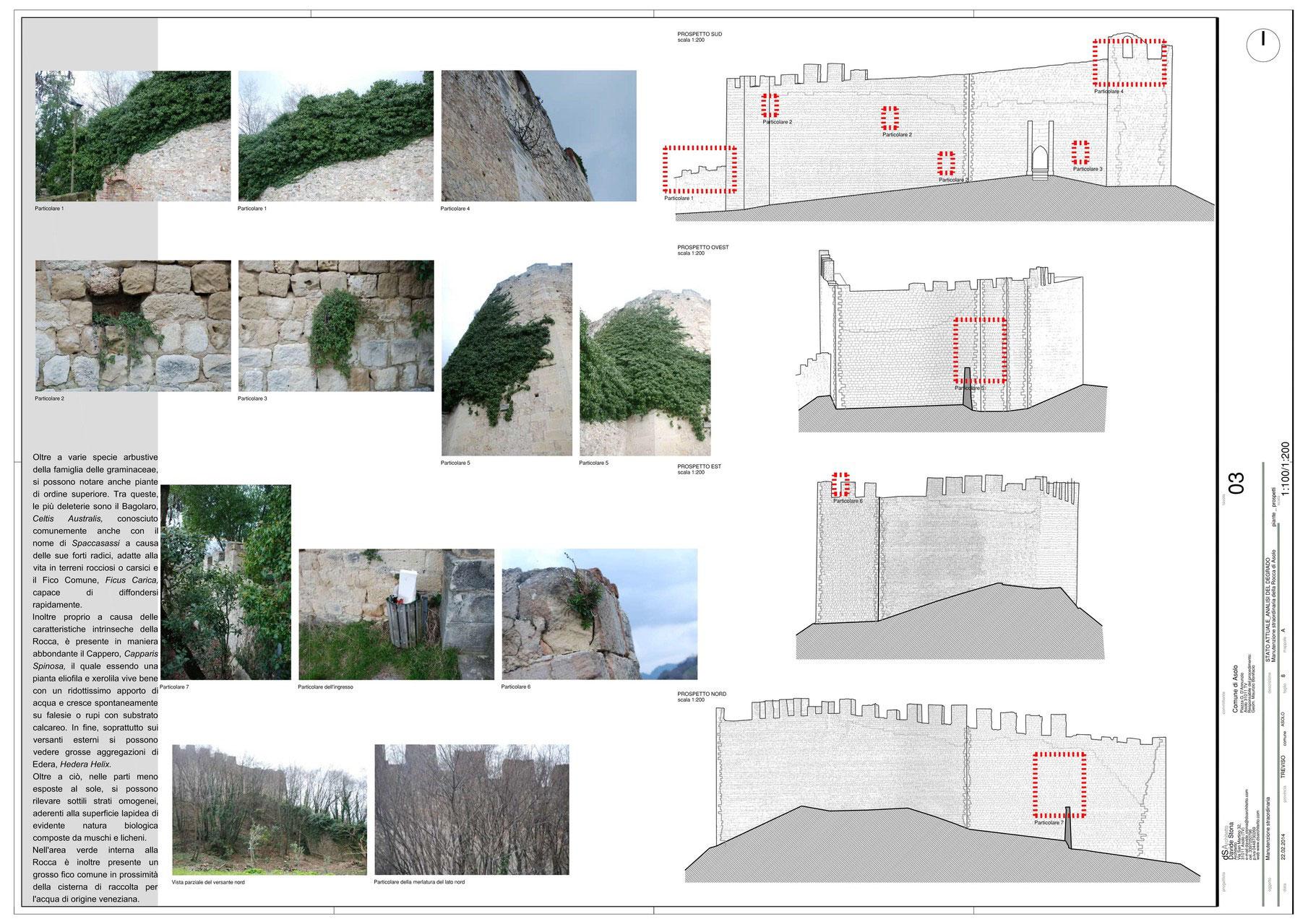 Los Massadores Armadio A Muro.Rocca Di Asolo Manutenzione Straordinaria Davide Stona Architetto