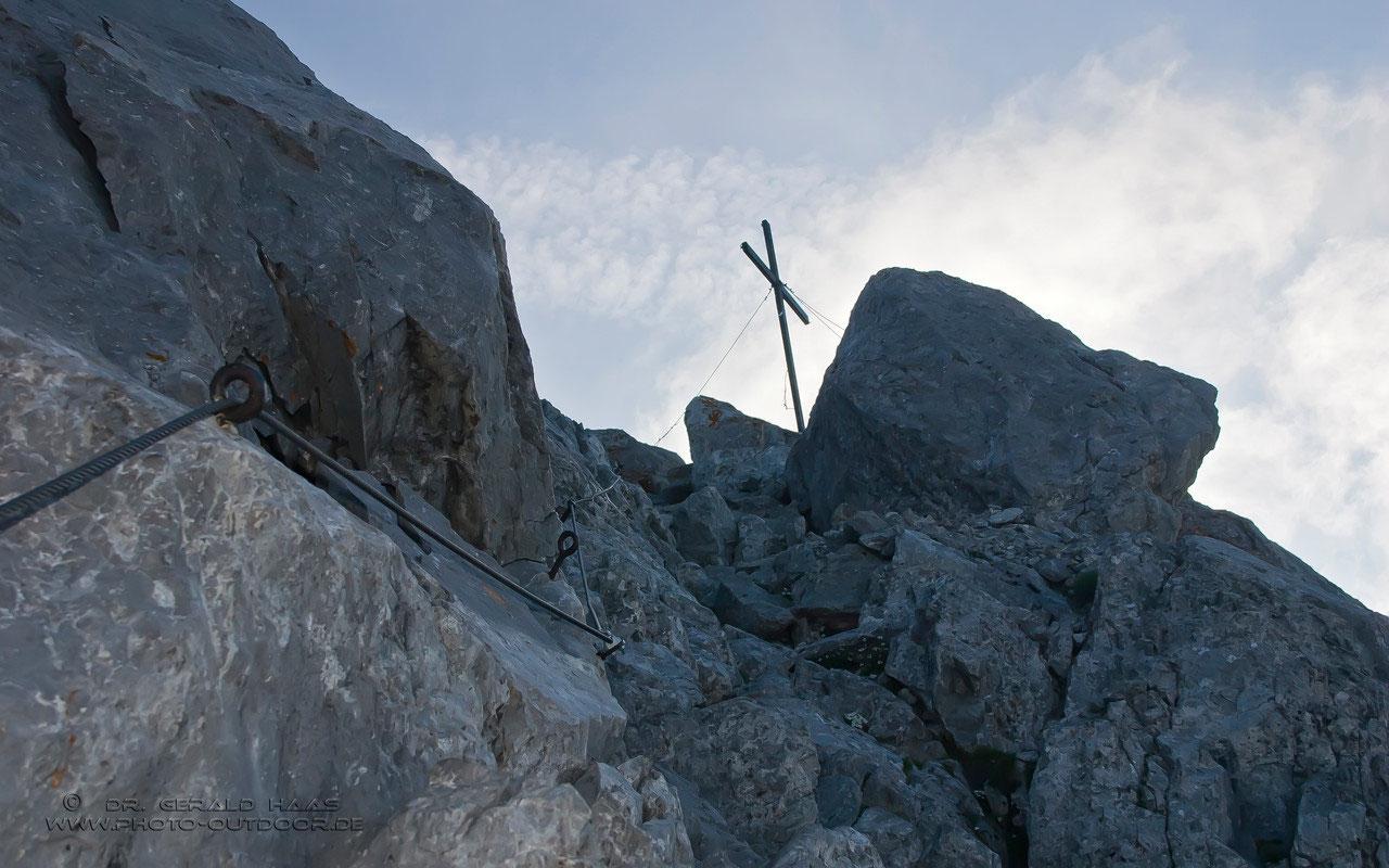 Klettersteig Ellmauer Halt : Klettersteig wilder kaiser ellmauer halt gamsänger steig