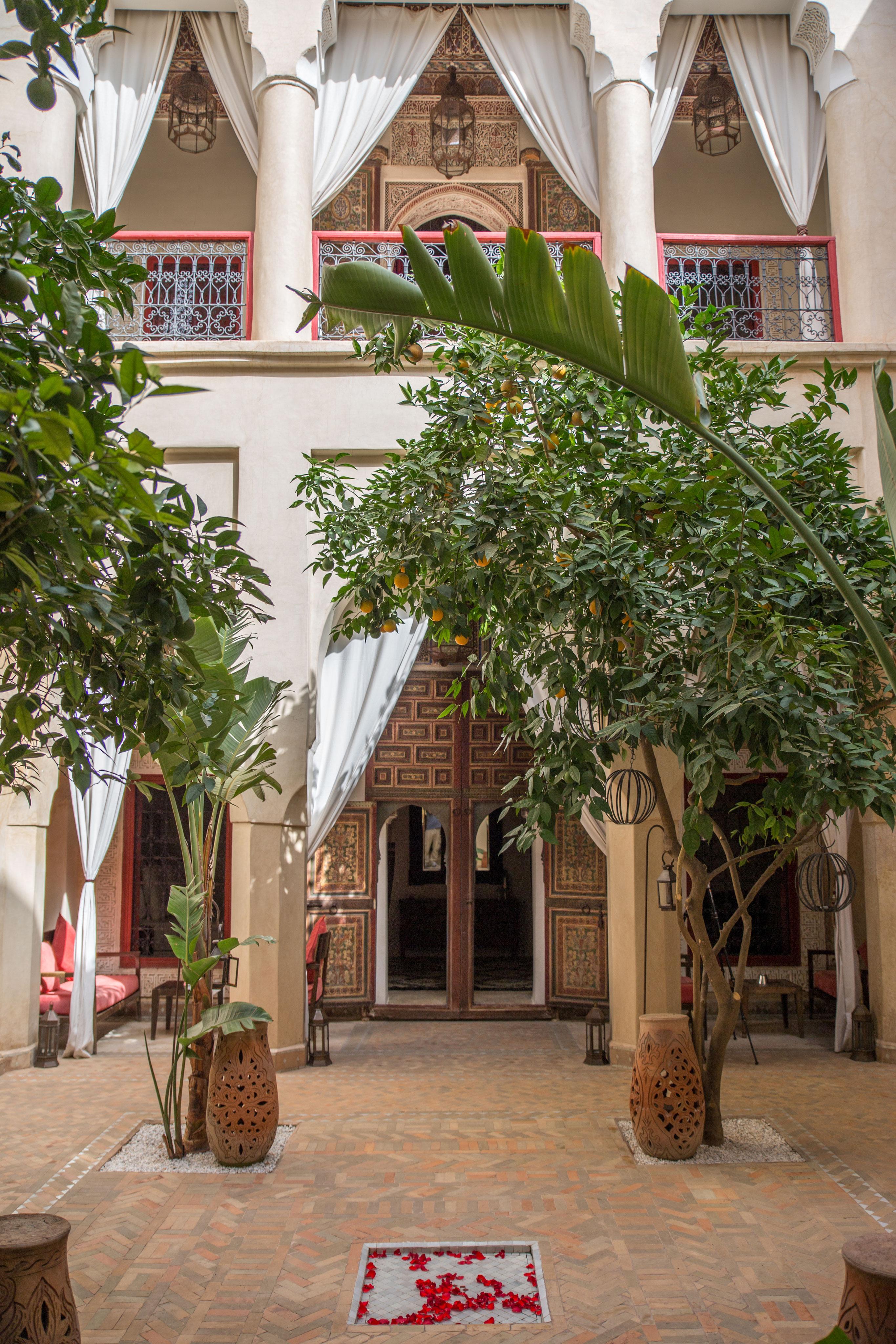 Location riad luxe marrakech avec piscine et hammam my - Location maison avec piscine marrakech ...