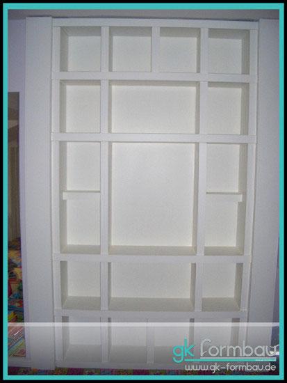 m bel regale gipskarton formteile f r den trockenbau lichtvouten. Black Bedroom Furniture Sets. Home Design Ideas