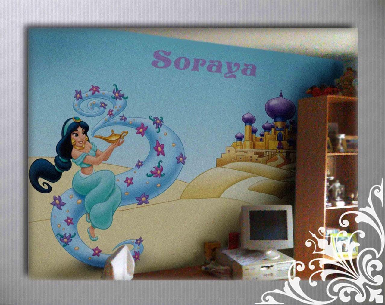 Dormitorios y habitaciones infantiles murales infantiles - Murales habitaciones infantiles ...