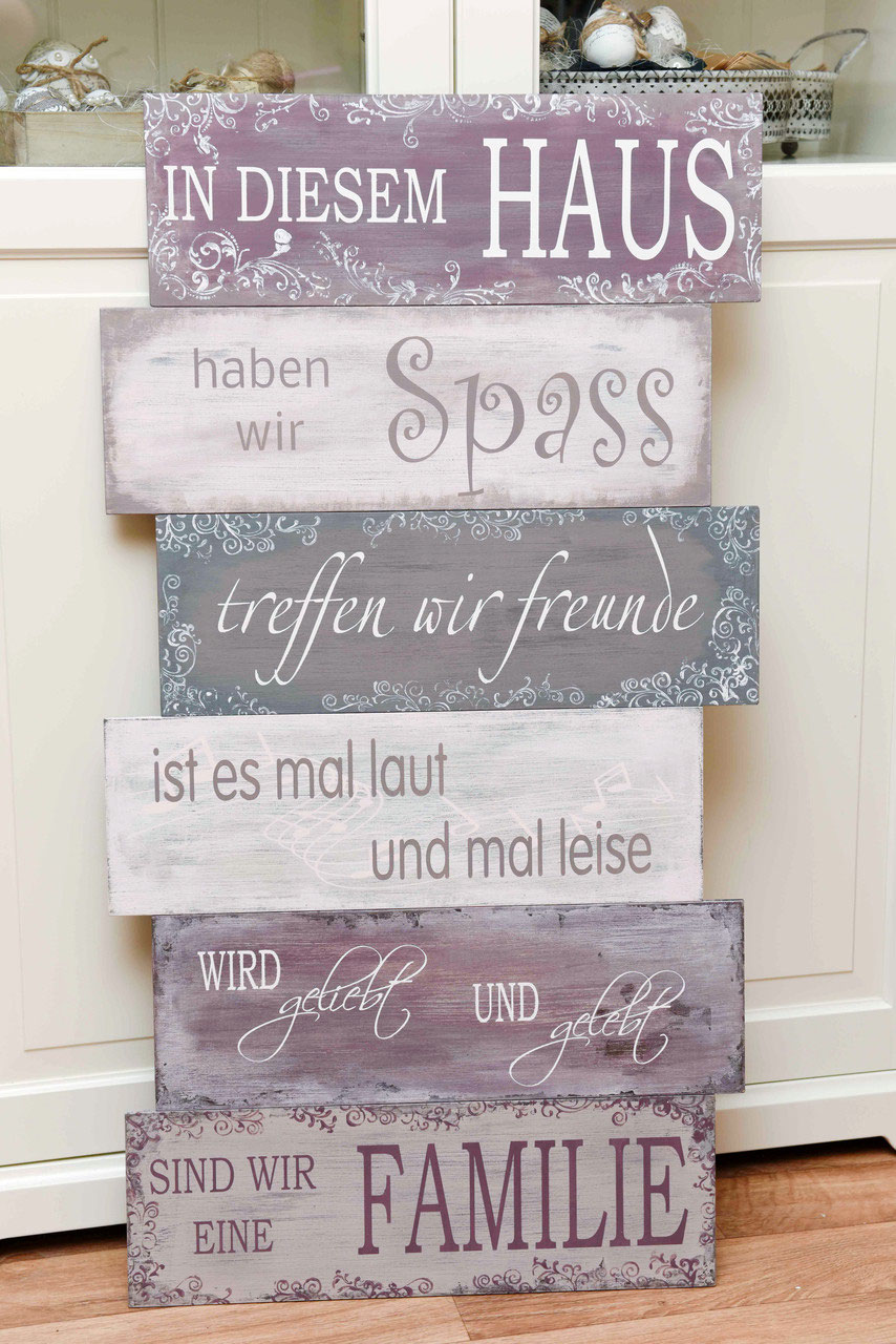 shabby chic familienschild kurs foto atelier schmid. Black Bedroom Furniture Sets. Home Design Ideas