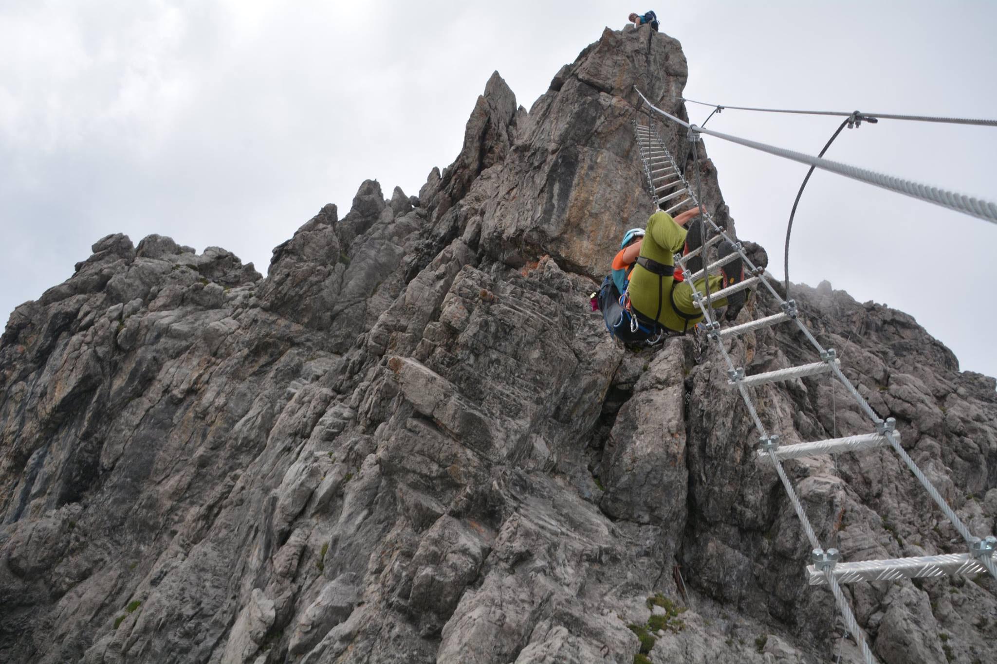 Klettersteig Saulakopf : Saulakopf klettersteig falta rock climbers webseite