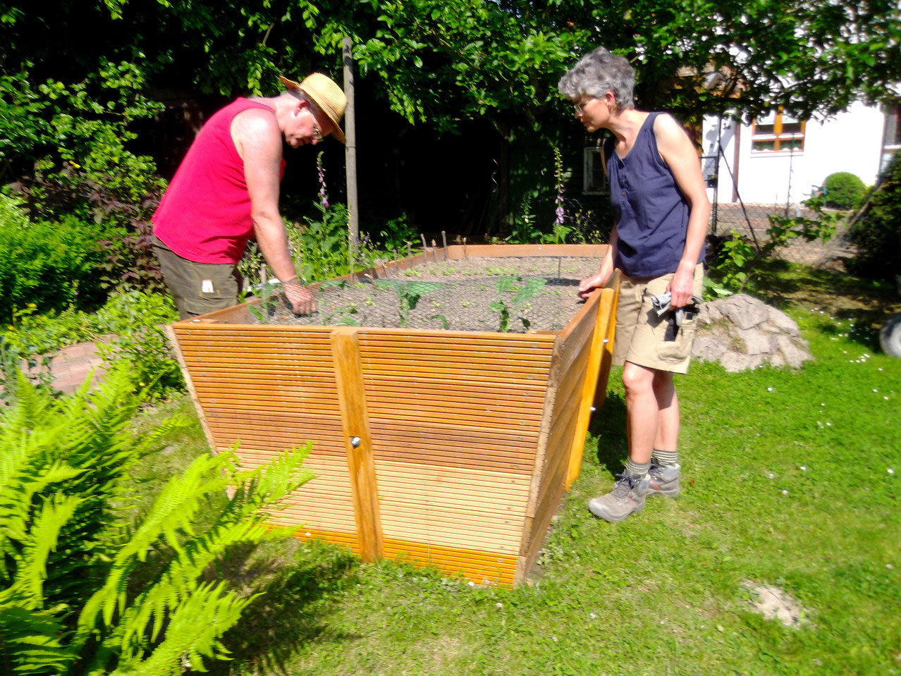 Barrierefreier garten peter korfmacher gartengestaltung for Gartengestaltung unterschiedliche hohen