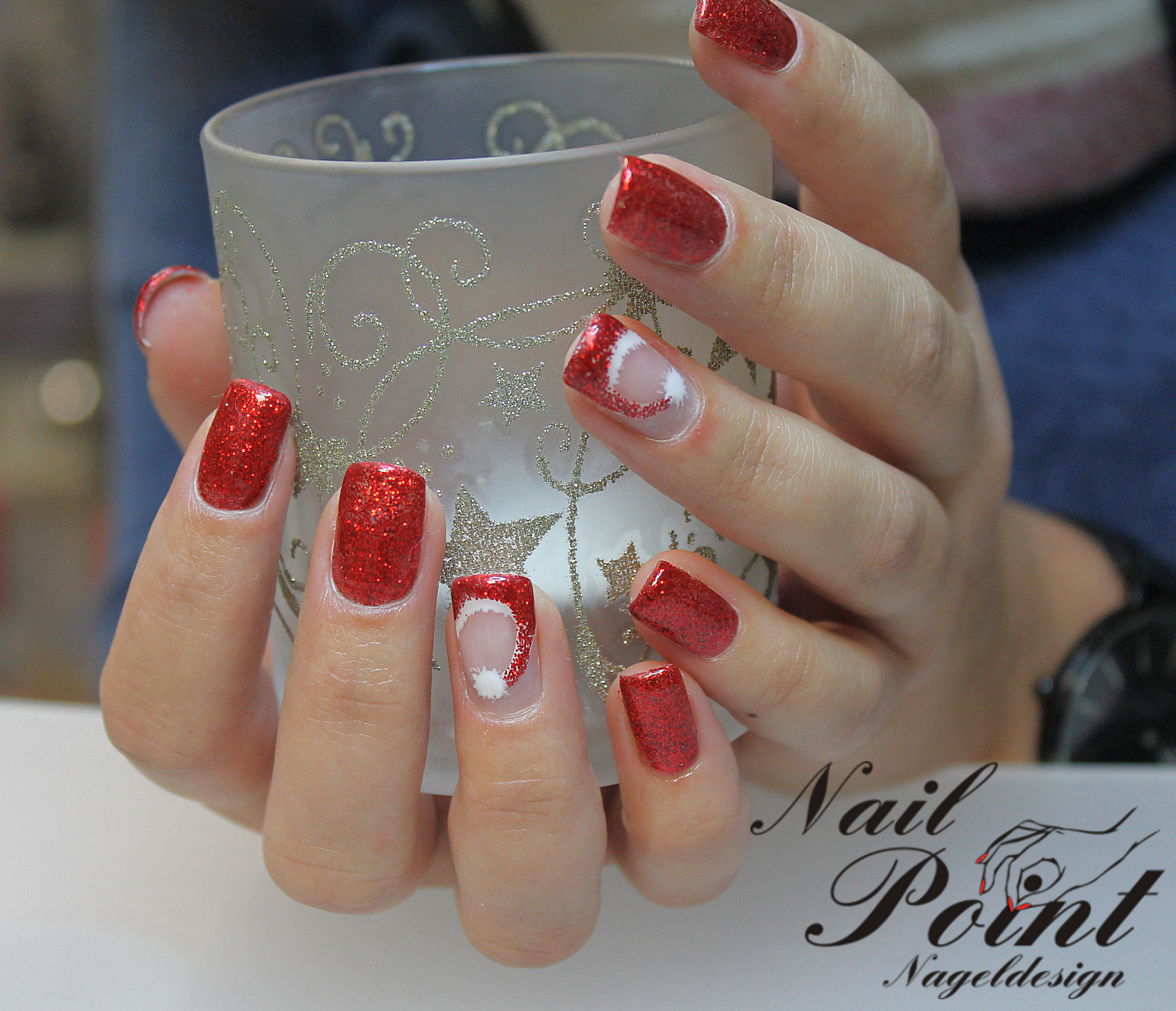 Enthralling Nageldesign Schwarz Rot Reference Of