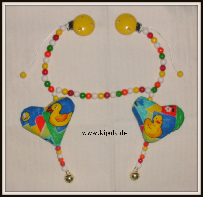 Individuelle Kinderwagenketten Mit Namen Kipola Kreativ