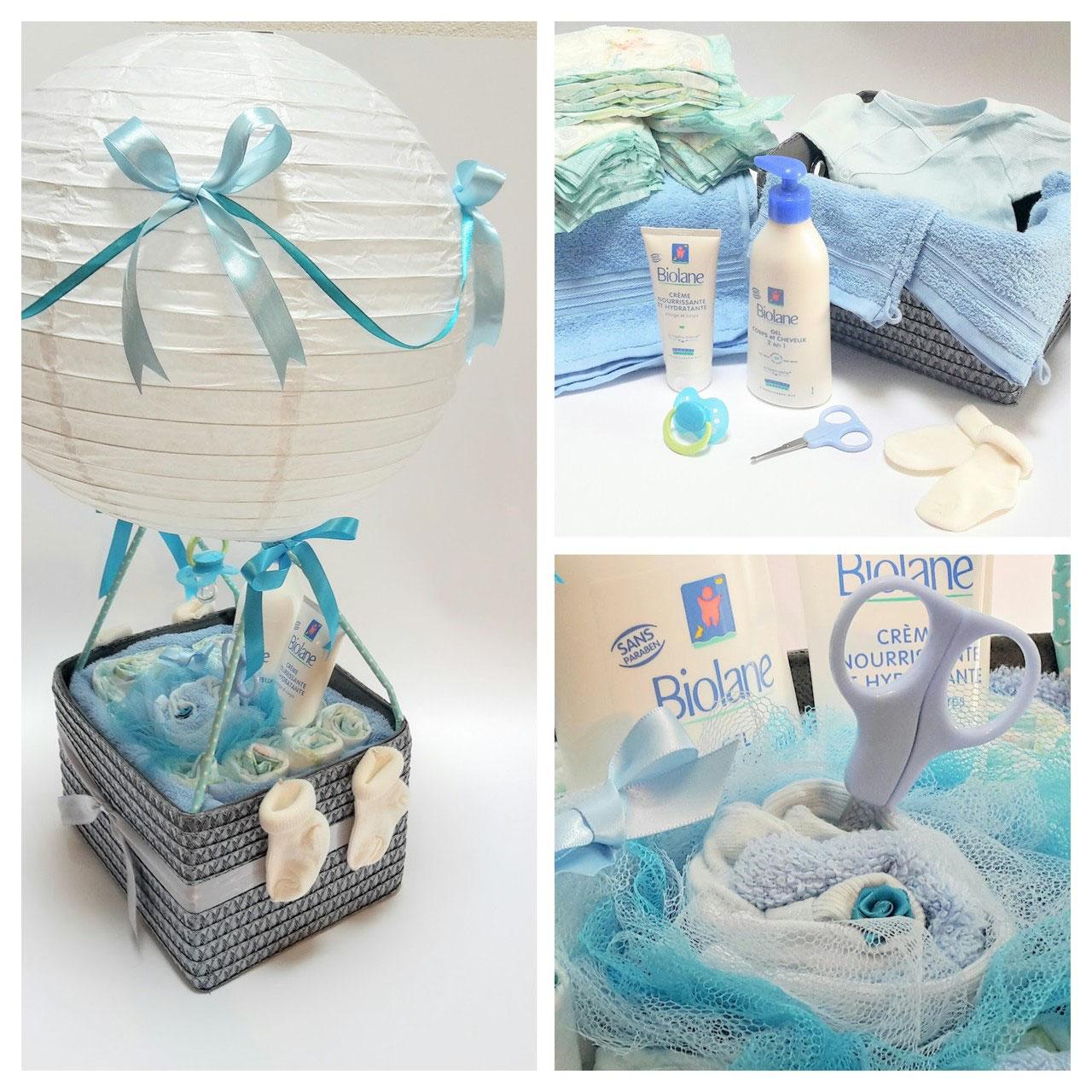 Cadeau Rigolo Baby Shower gâteaux de couches pour garçons - cadeaux naissance