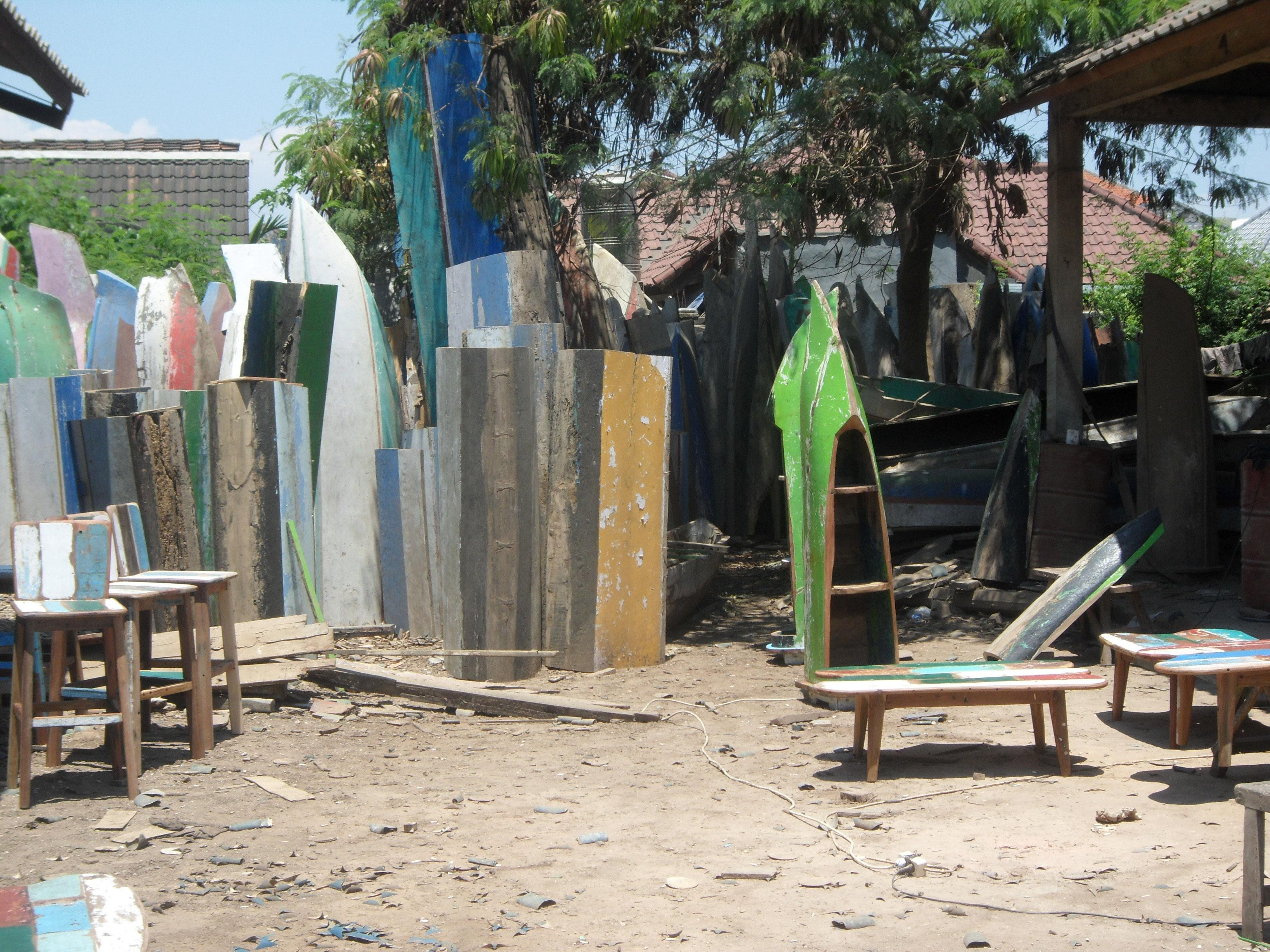 Nachhaltig Schön Ocean Wood Möbel Aus Booten