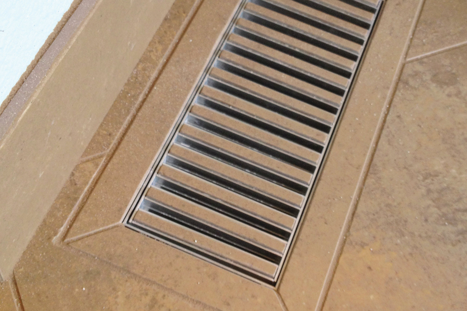 Custom Tile Heat Registers Tile Lines