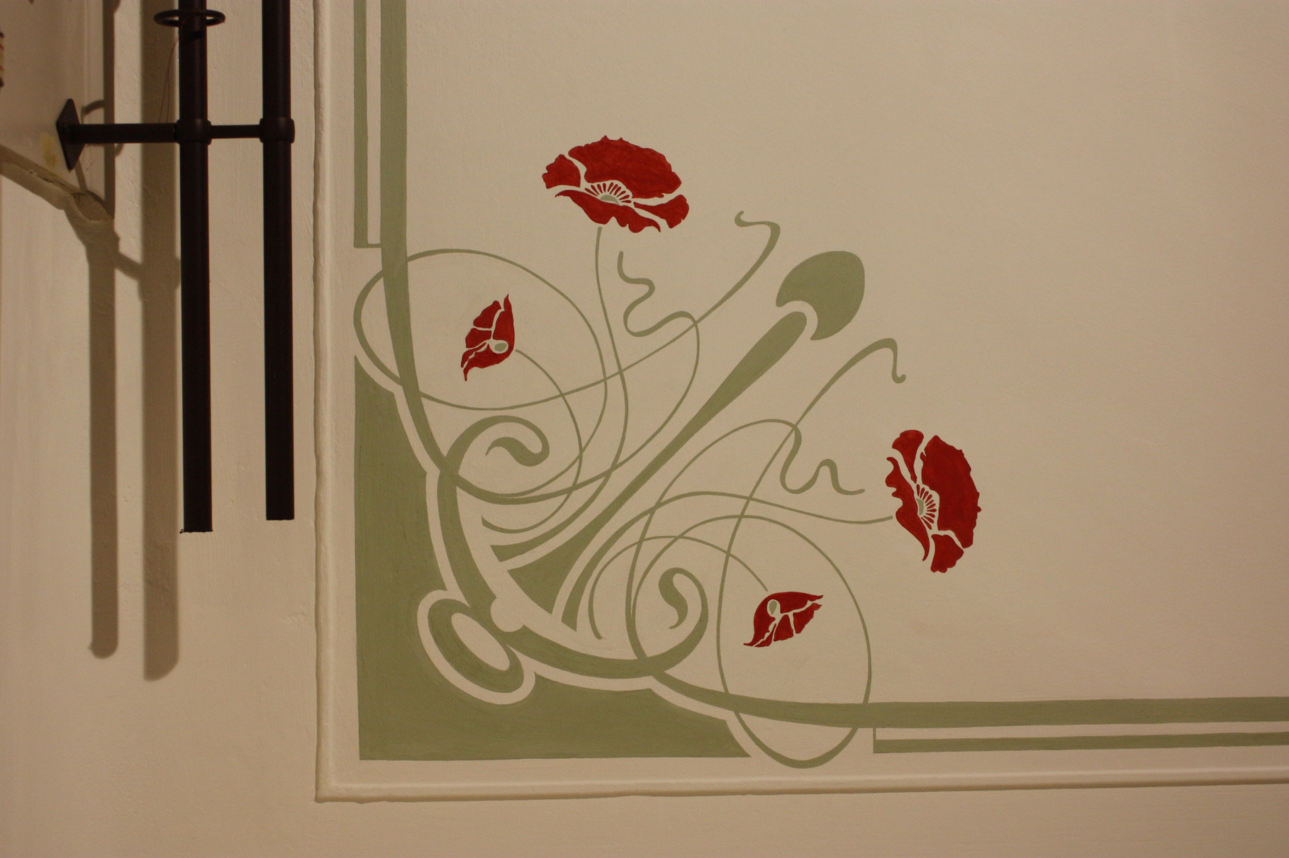 deckenmalerei gew lbemalerei deckengem lde guttermann illusionsmalerei fassadenmalerei. Black Bedroom Furniture Sets. Home Design Ideas