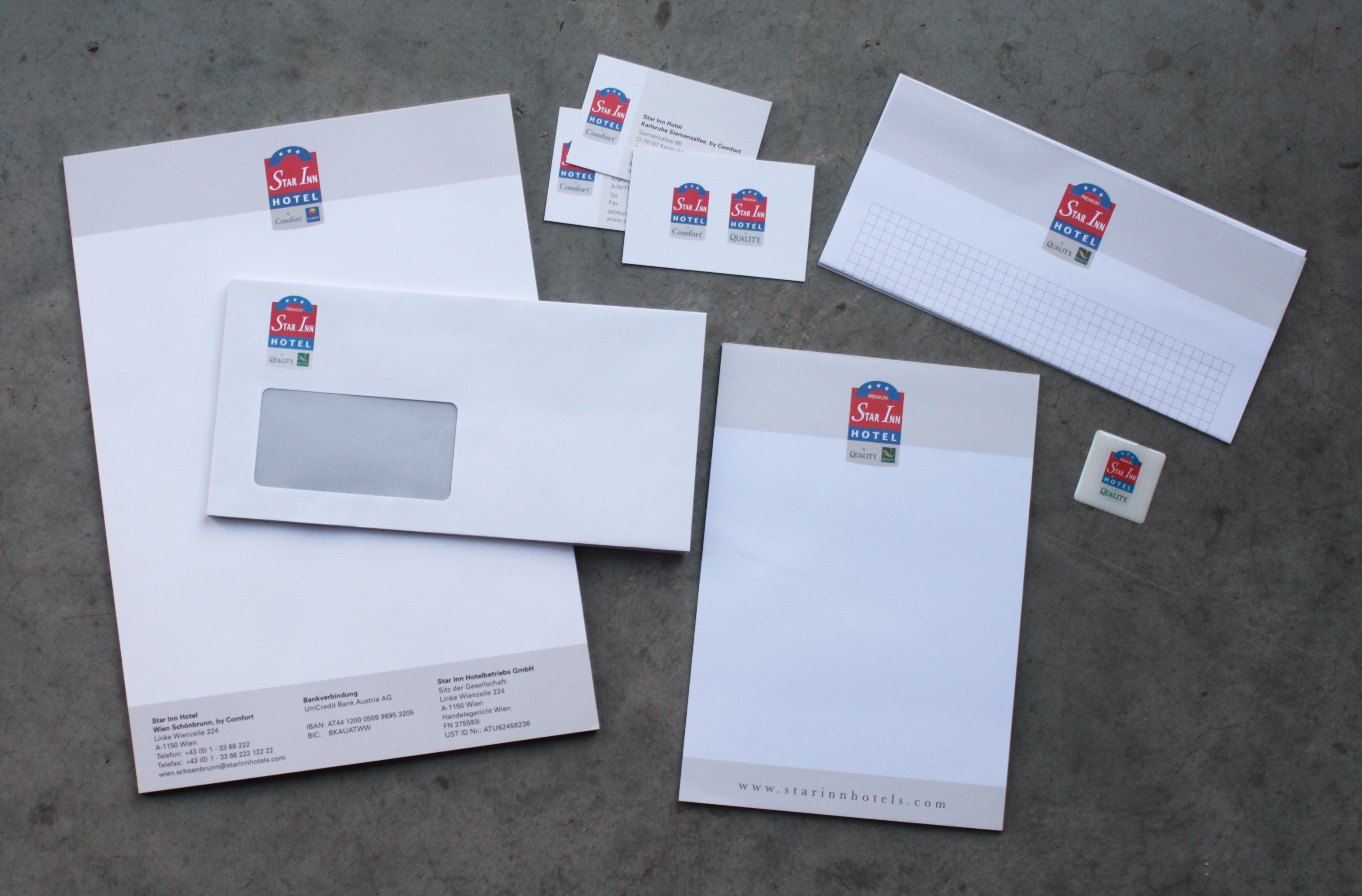 Neu Gierig Visitenkarten Briefpapier Geschäftspapiere