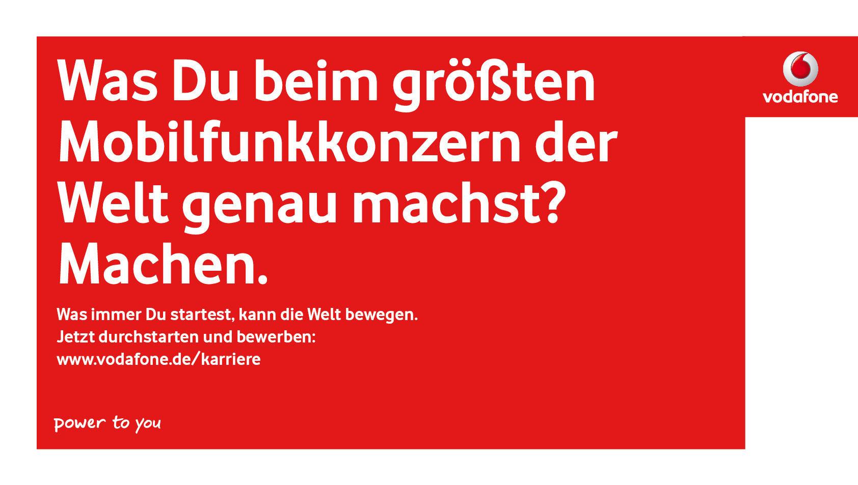 anzeigen plakate felix heine freier werbetexter freelance copywriter - Vodafone Bewerbung