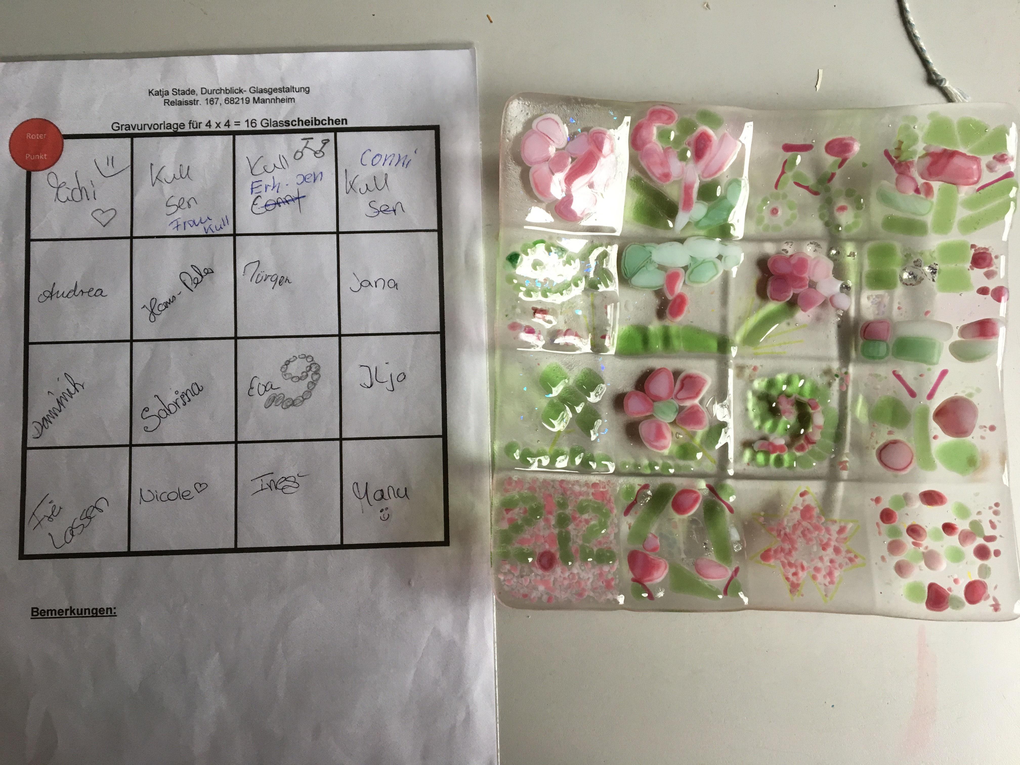Ideen Originelles Hochzeitsgeschenk Durchblick Glasgestaltung