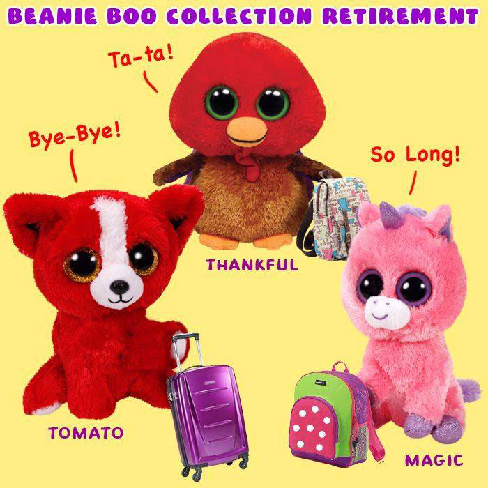 1e910ff3f00 Retirements - Beanie Boo collection website!