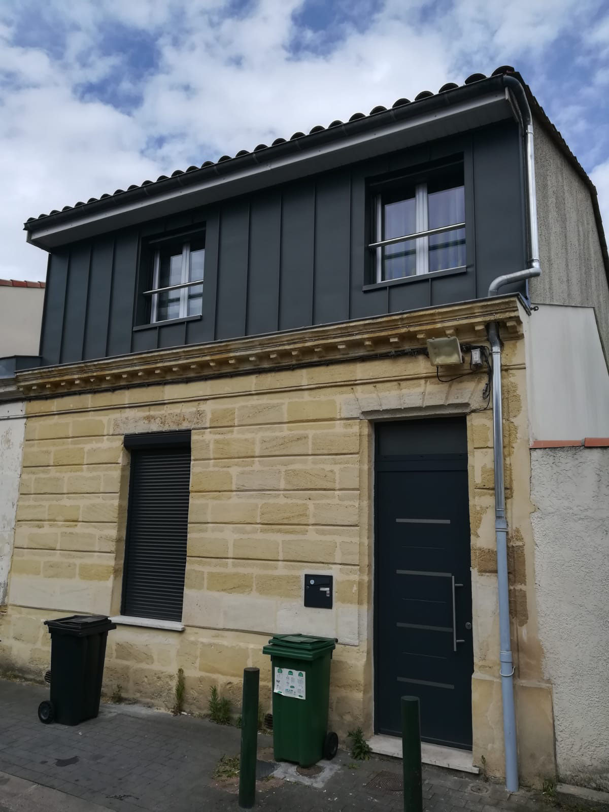 Exemple De Bardage Exterieur bardage facade exterieur - toitures 33 - bordeaux gironde