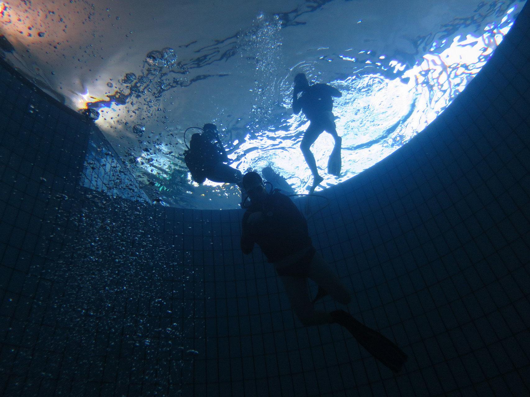 Cours de plongée 92