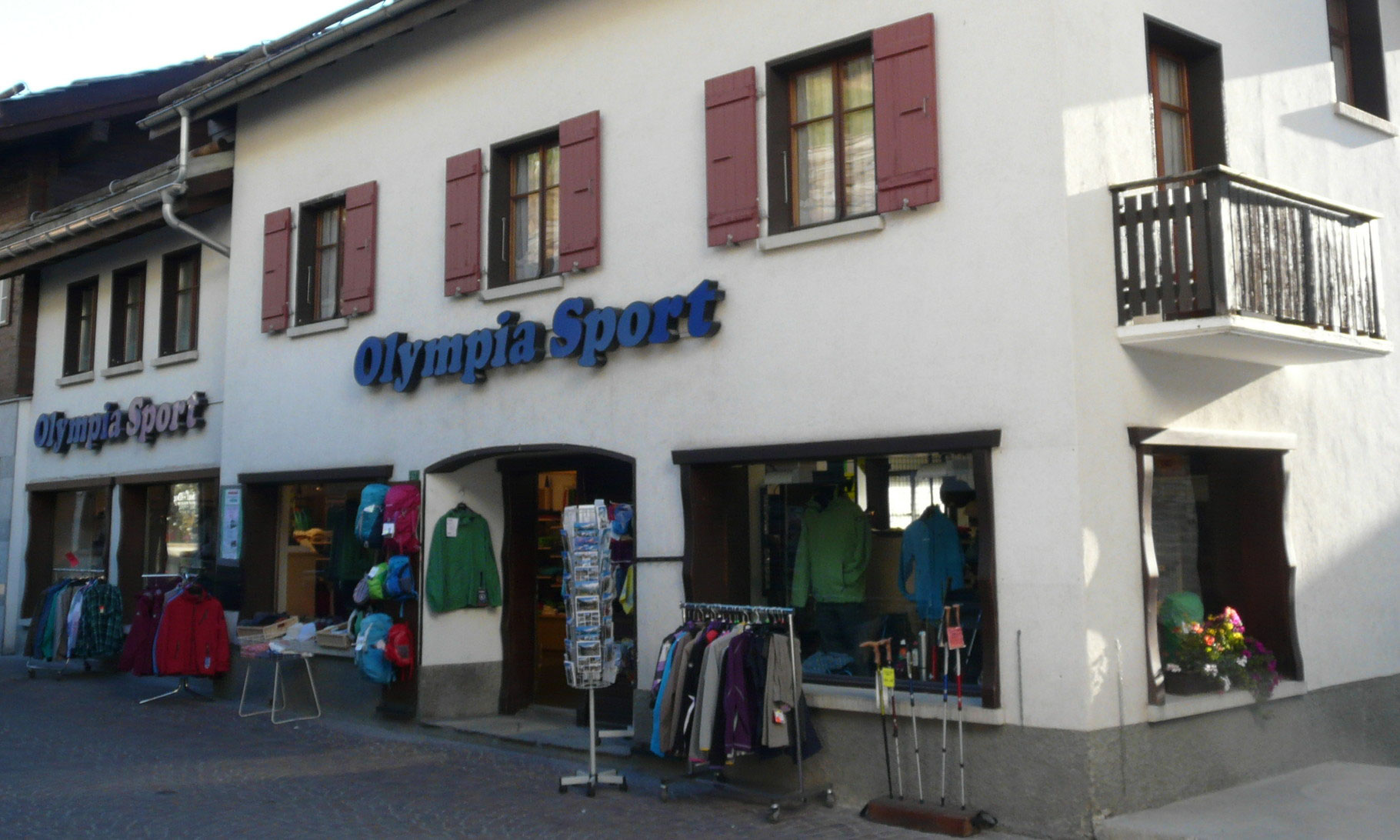 Klettersteigset Outlet : Sportgeschäft olympia sport saas fee