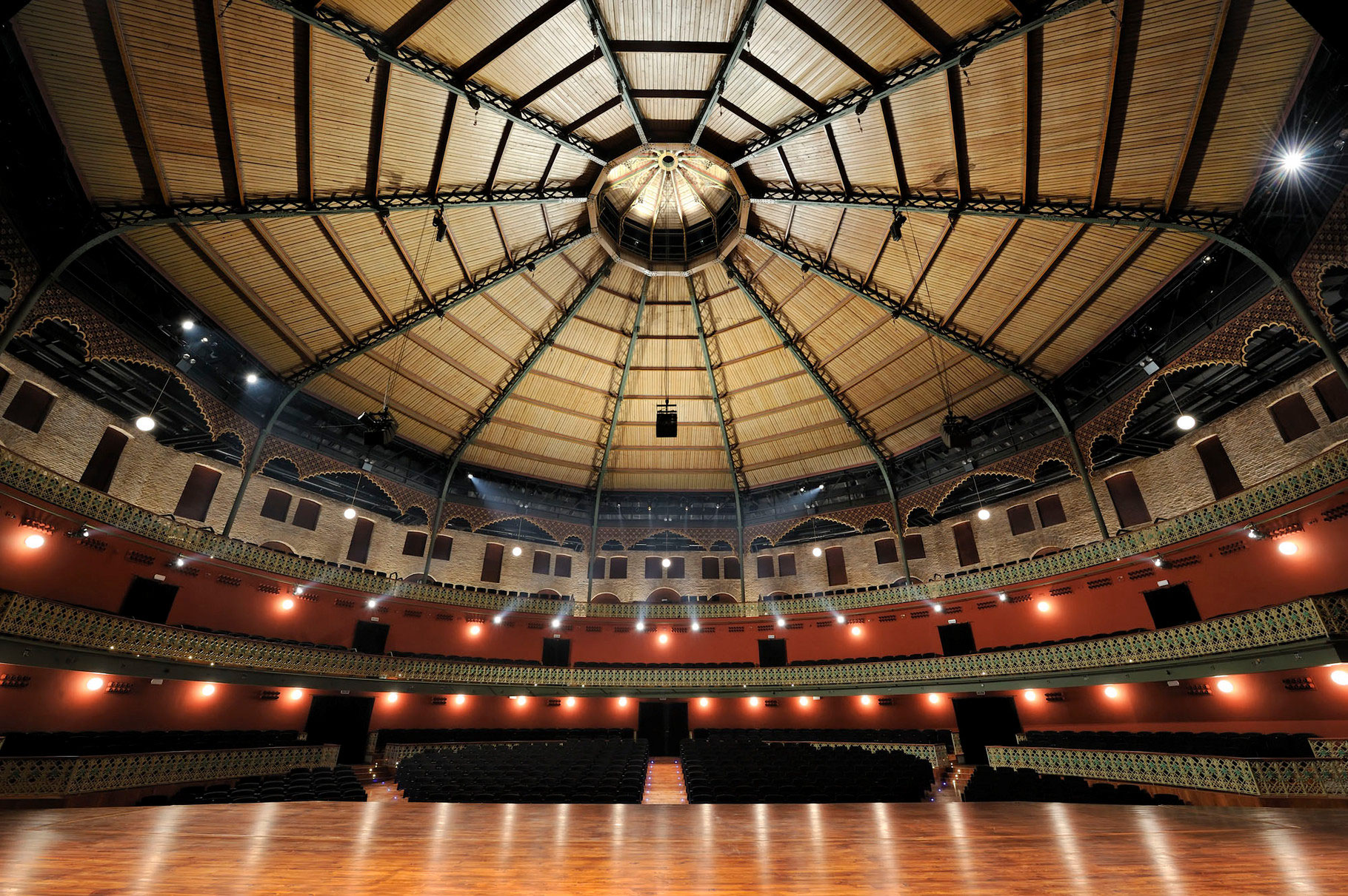 Theater circo murcia paarquitectos estudio de - Estudios arquitectura murcia ...