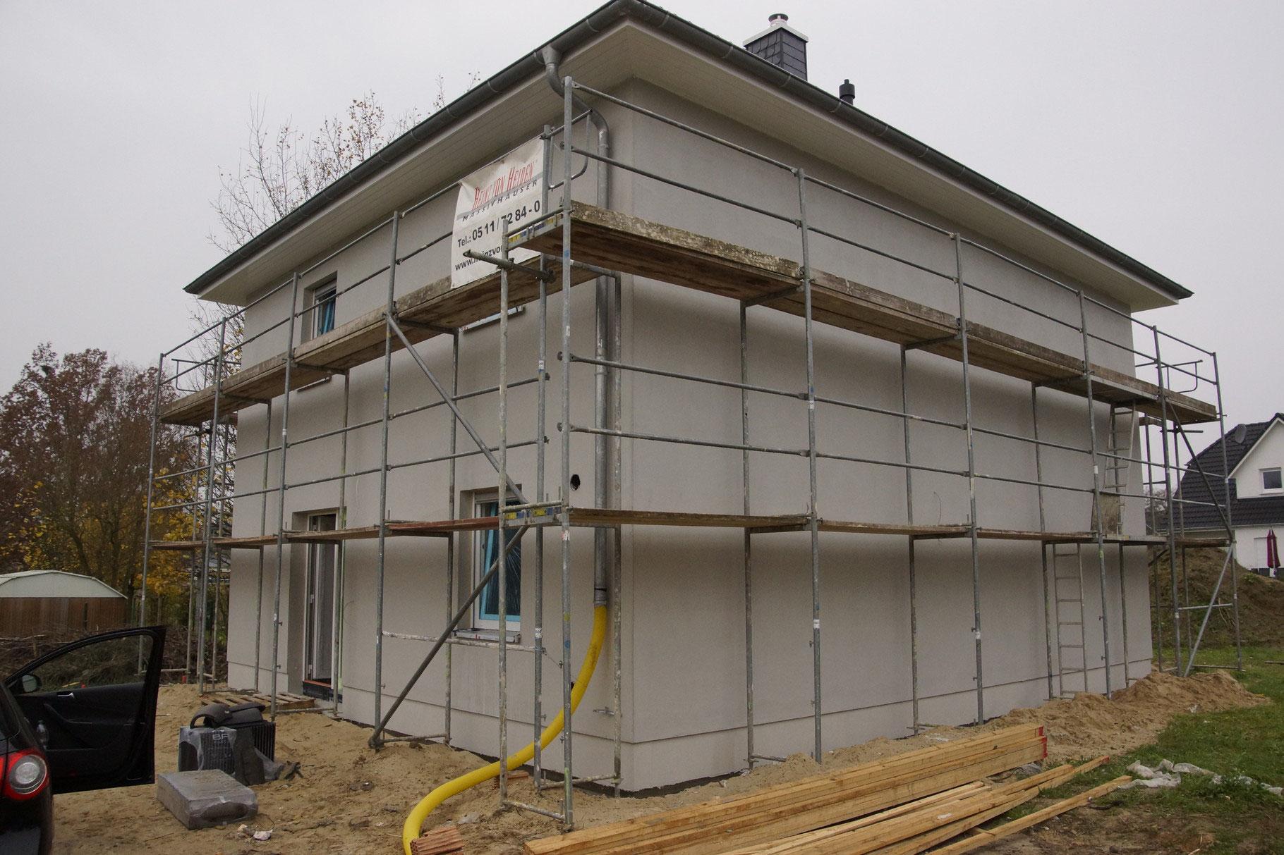 Turbo KW 46   Dachkasten & Heizung Sanitär - Bautagebuch von Susi und IL07