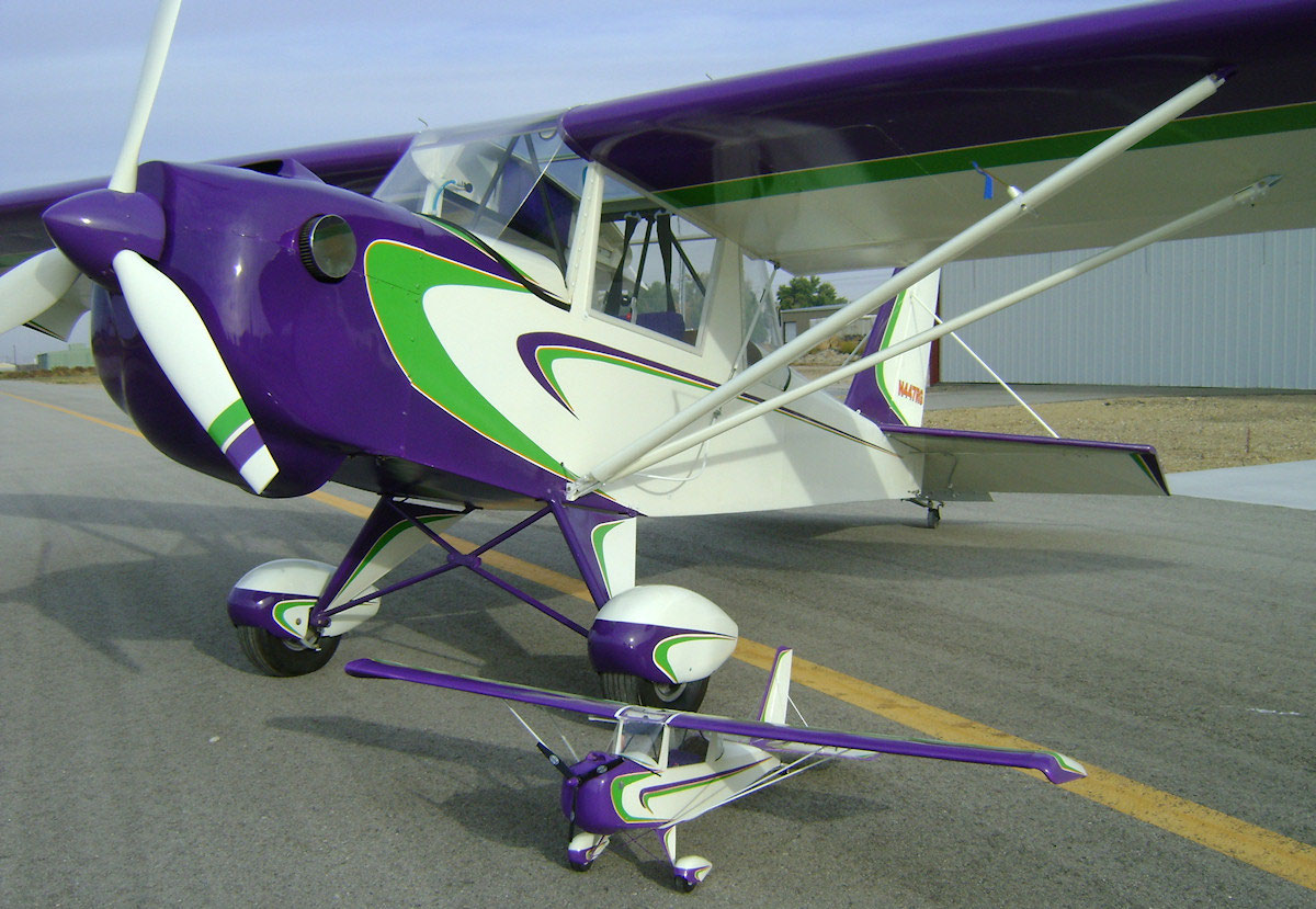 Himax Aircraft Free Plans Easy To Build Light Aircraft
