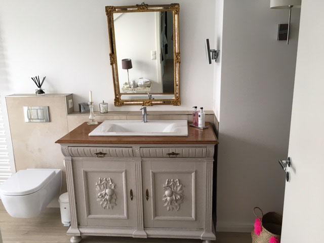 Einfach Waschtisch Landhaus Sammlung Von Wohndesign Dekorativ