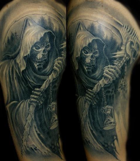 Signification et mod les tatouages mort id es de - Tatouage la mort ...
