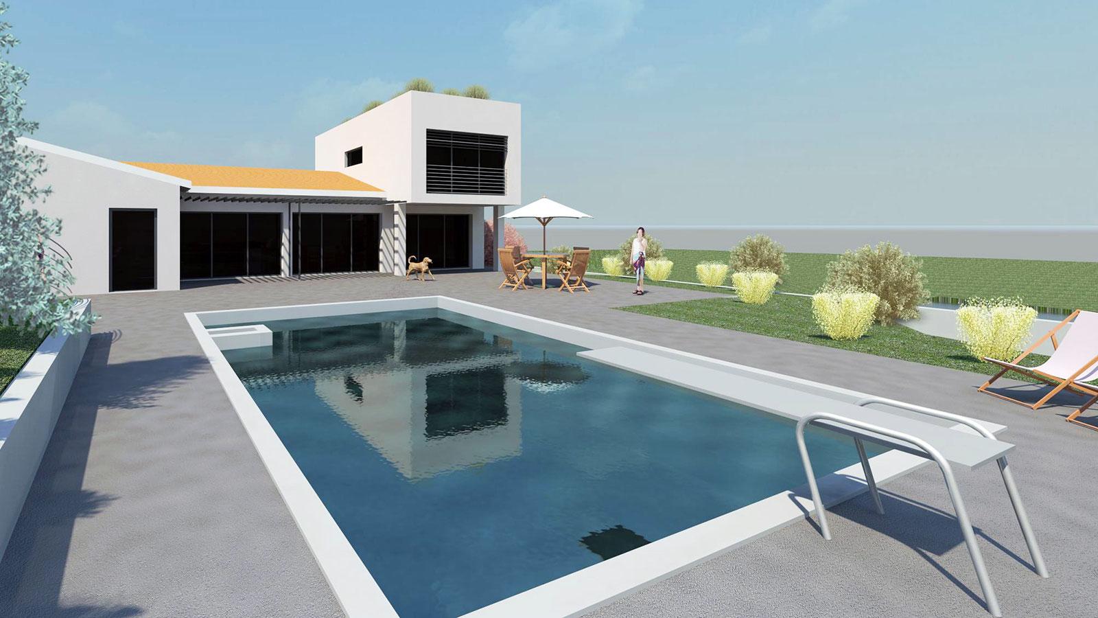 maison bo agence epure guillaume cariou architecte libourne architecture et maitrise d 39 oeuvre. Black Bedroom Furniture Sets. Home Design Ideas