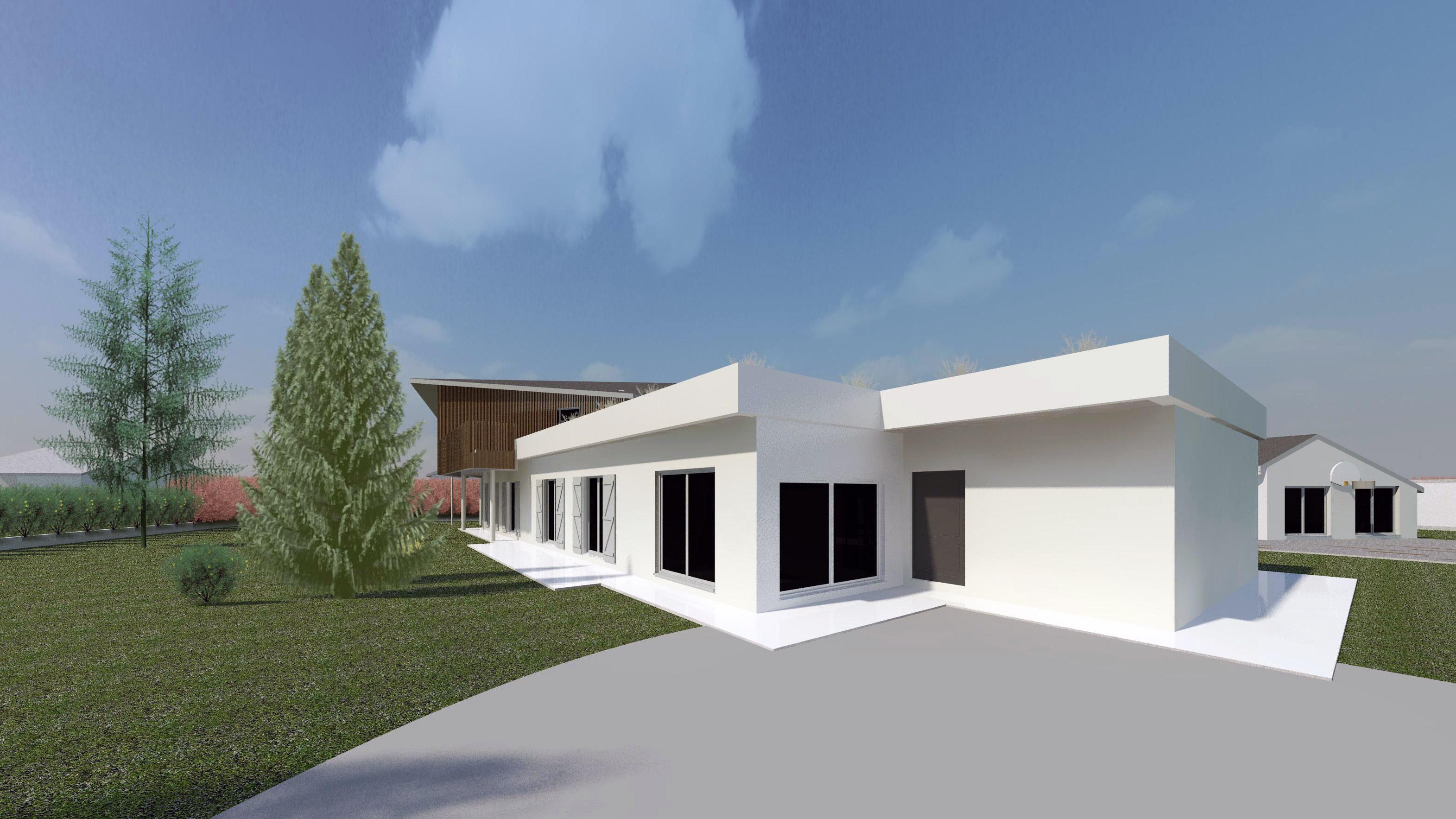 maison al agence epure guillaume cariou architecte libourne architecture et maitrise d 39 oeuvre. Black Bedroom Furniture Sets. Home Design Ideas