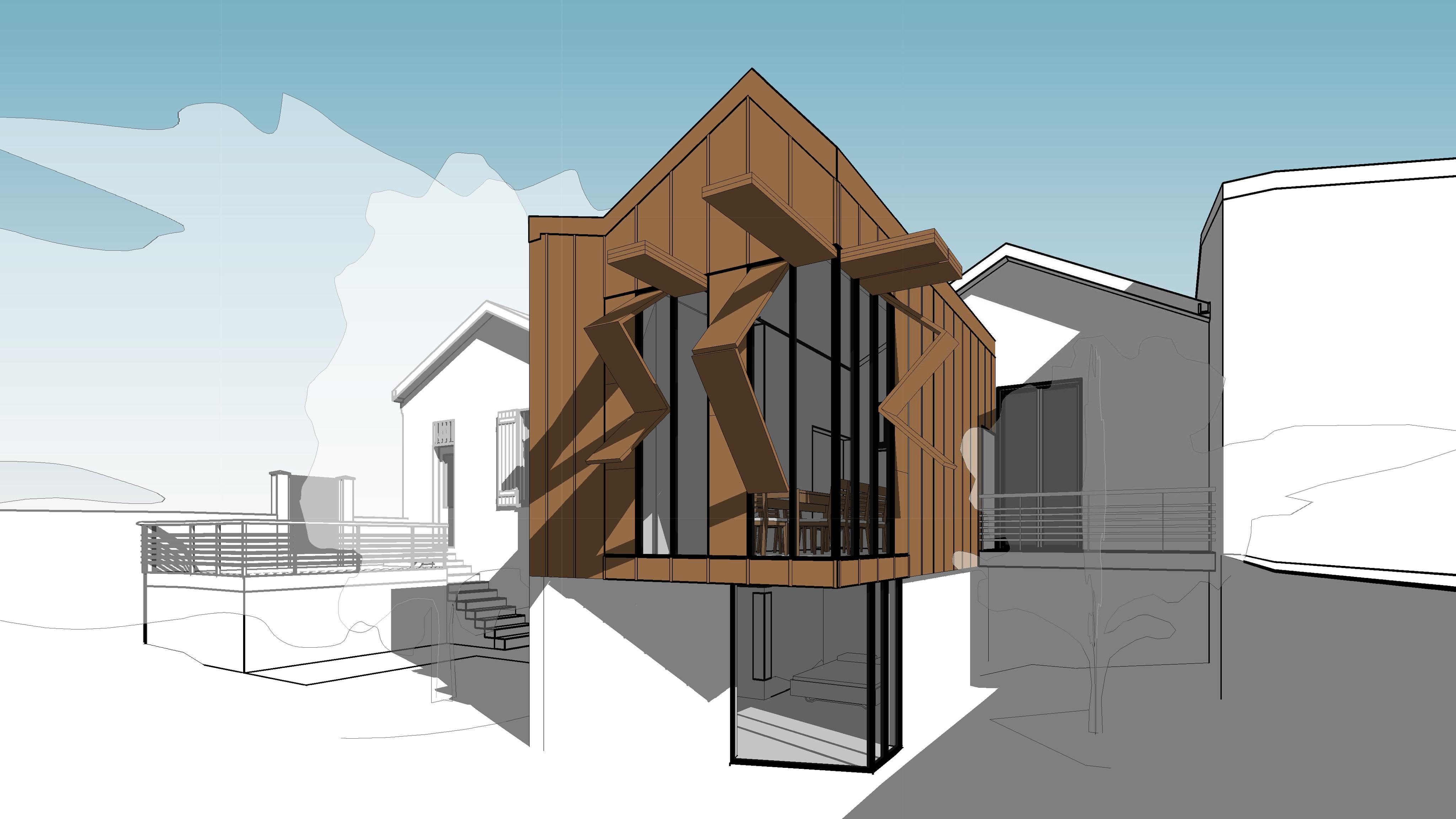 maison p agence epure guillaume cariou architecte libourne architecture et maitrise d 39 oeuvre. Black Bedroom Furniture Sets. Home Design Ideas