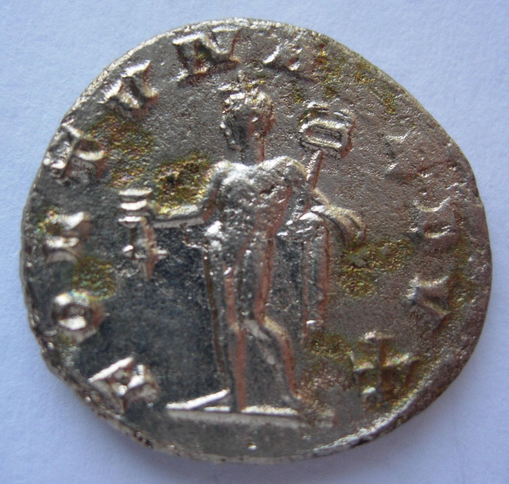 Antoninien 257-258 Empire Romain Consacratio Valérien Ii