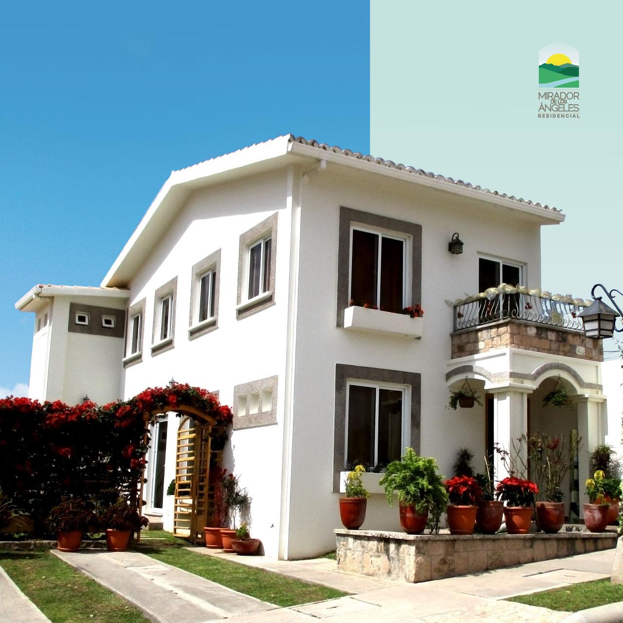 Modelos casas res mirador de los ngeles for Casa de dos plantas en honduras