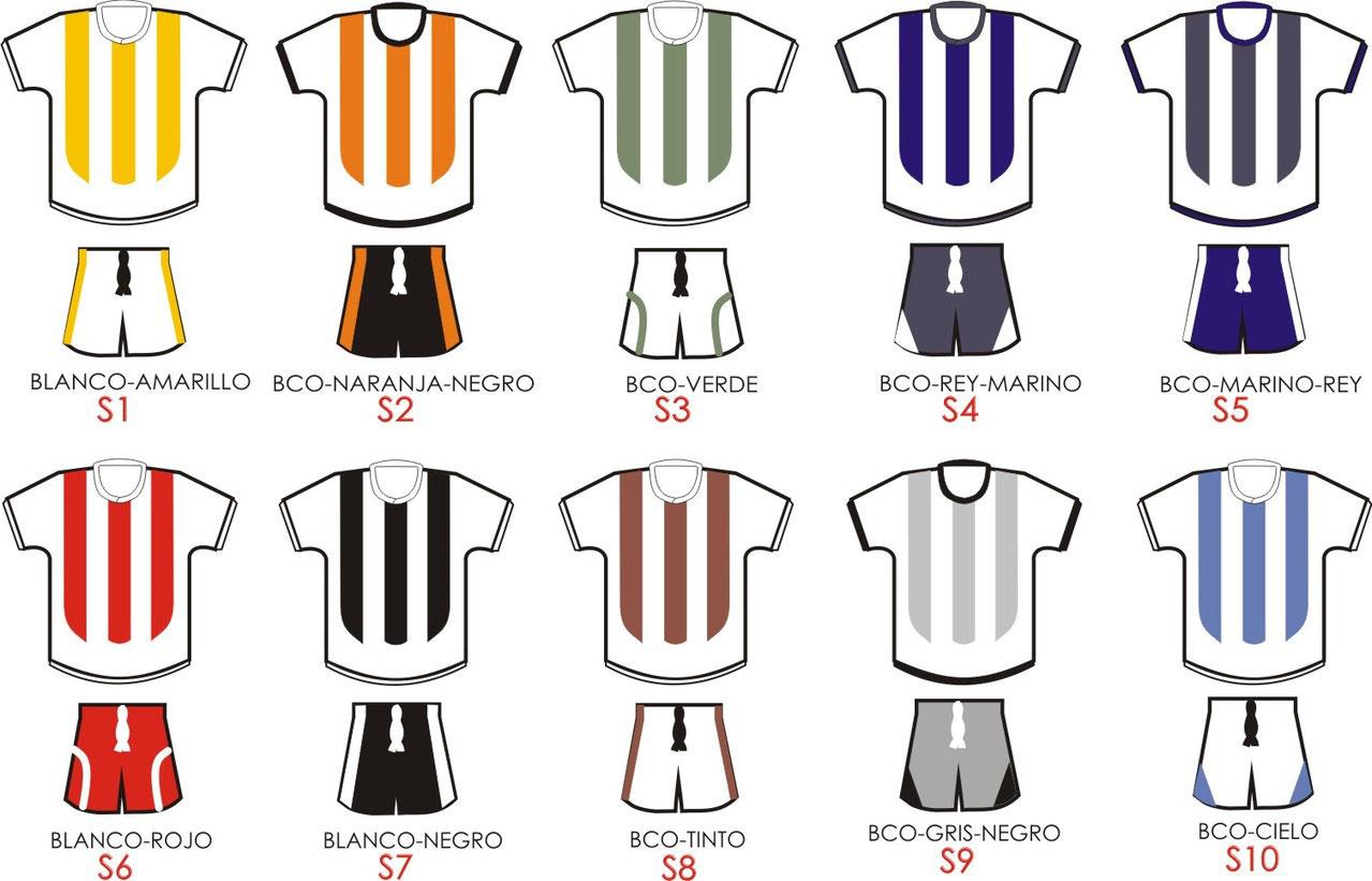 UNIFORMES PERSONALIBLES SOBRE PEDIDO - Comercial Deportiva - Balones y  Uniformes de Futbol Soccer y más! a07db457250