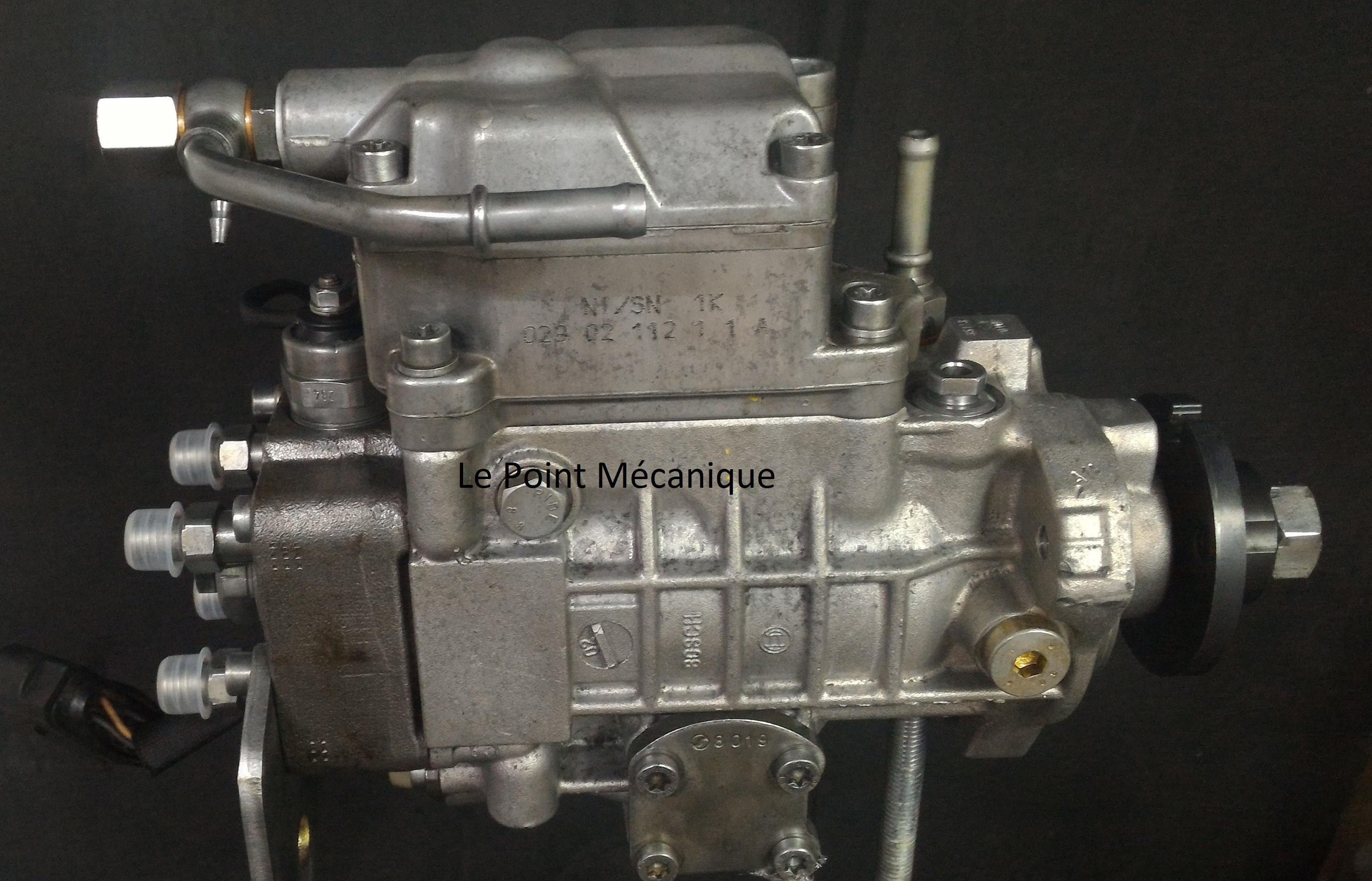 Pompe injection VE Volkswagen 0460404977 - Le Point Mécanique