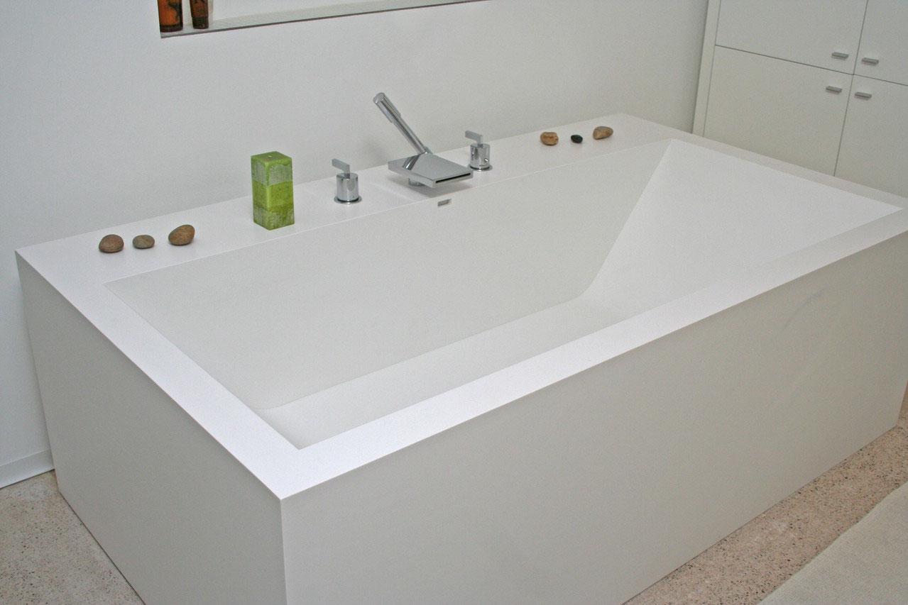 Particulier - salle de bain - Transformateur de résine de synthèse